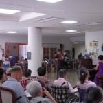 日立の老人施設でのコンサート