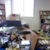 地震後のスタジオ風景2