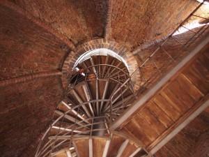 500段の階段を上ると、もう一息です