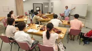 大阪での楽器のセルフ・チューニング講習会
