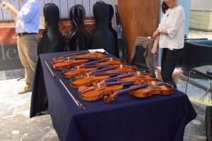 最終的にはヴァイオリンだけでこれだけ集まりました
